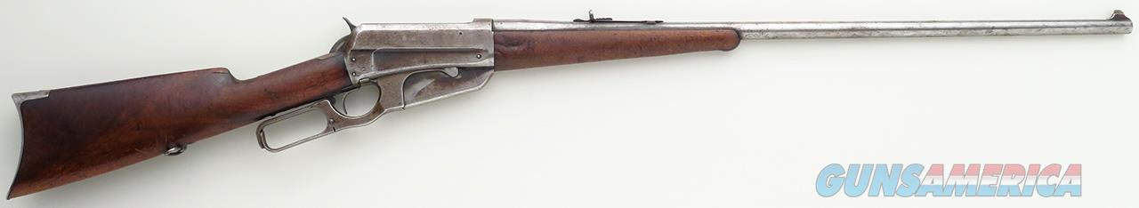 Winchester 1895 .30 US, serial 6890 made in 1897, nickel steel barrel  Guns > Rifles > Winchester Rifles - Pre-1899 Lever