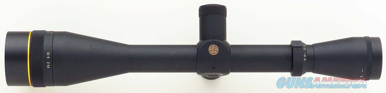 Leupold VX-2 6-18x40mm Target, Fine Duplex, adjustable objective, new condition  Non-Guns > Scopes/Mounts/Rings & Optics > Rifle Scopes > Variable Focal Length
