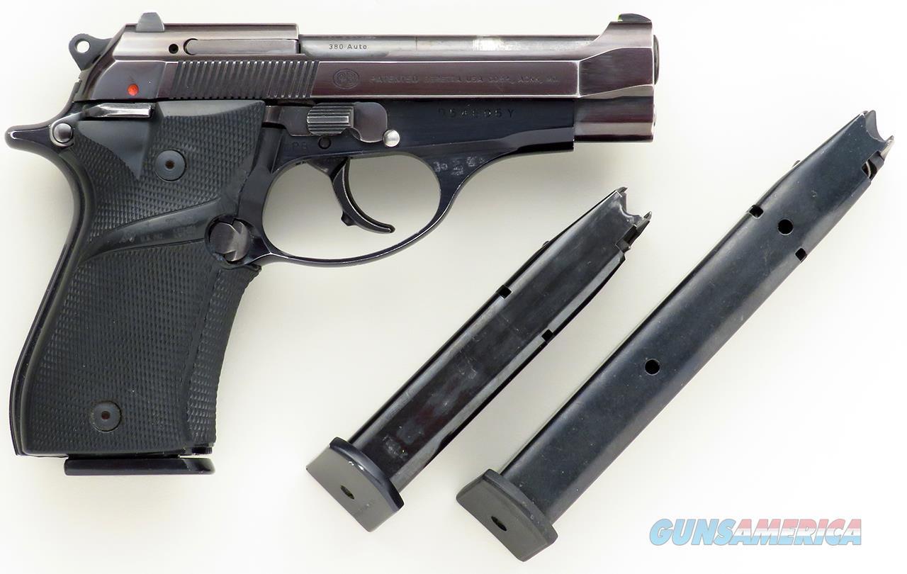 "Beretta 84BB ""Cheetah"" .380 ACP, three magazines, SA/DA, thumb safety, Pachmayr  Guns > Pistols > Beretta Pistols > Cheetah Series > Model 84"