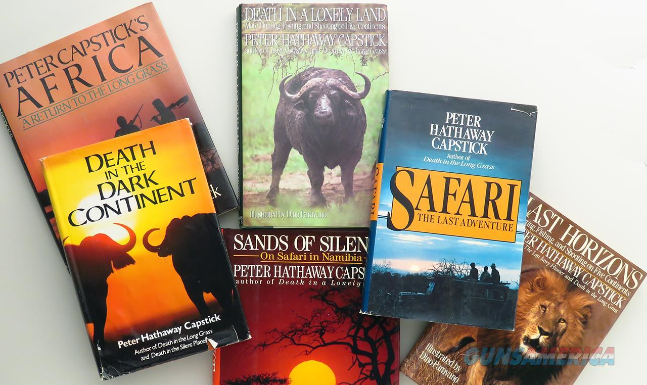 Capstick books, six titles, strong condition  Non-Guns > Books & Magazines