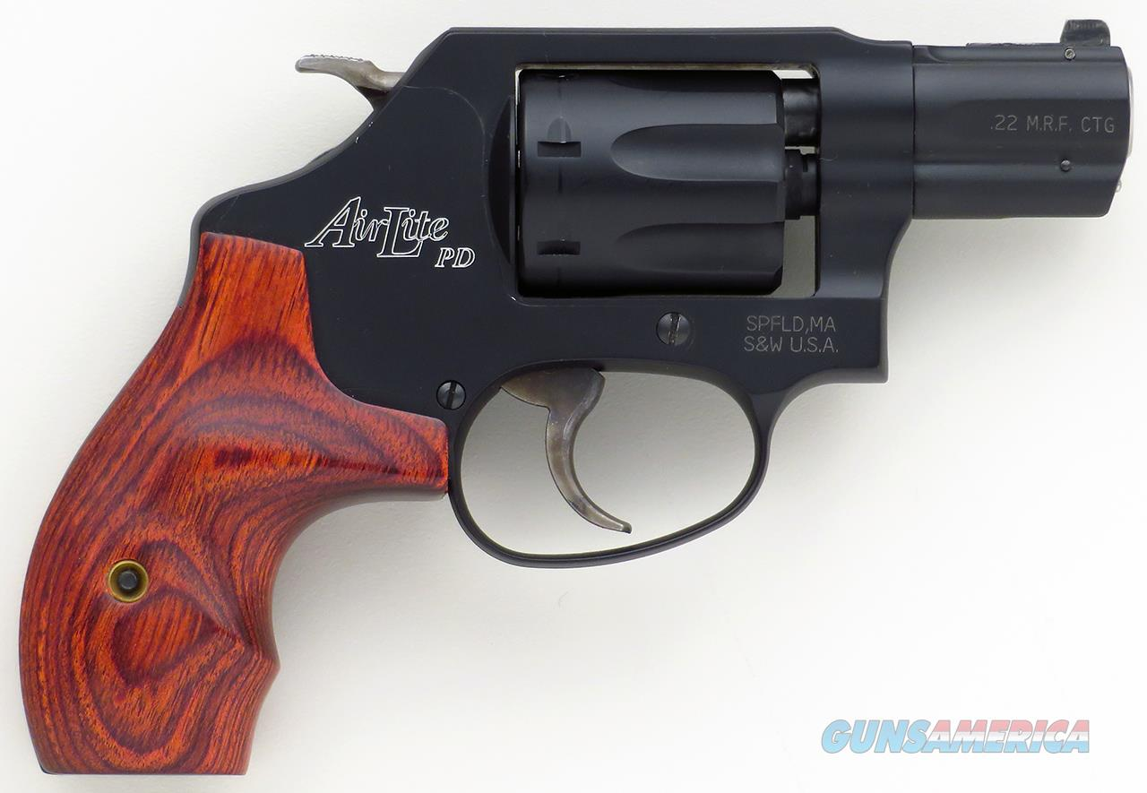 Smith & Wesson Model 351PD .22 Magnum, 1.875-inch, solid front sight, seven-shot  Guns > Pistols > Smith & Wesson Revolvers > Small Frame ( J )