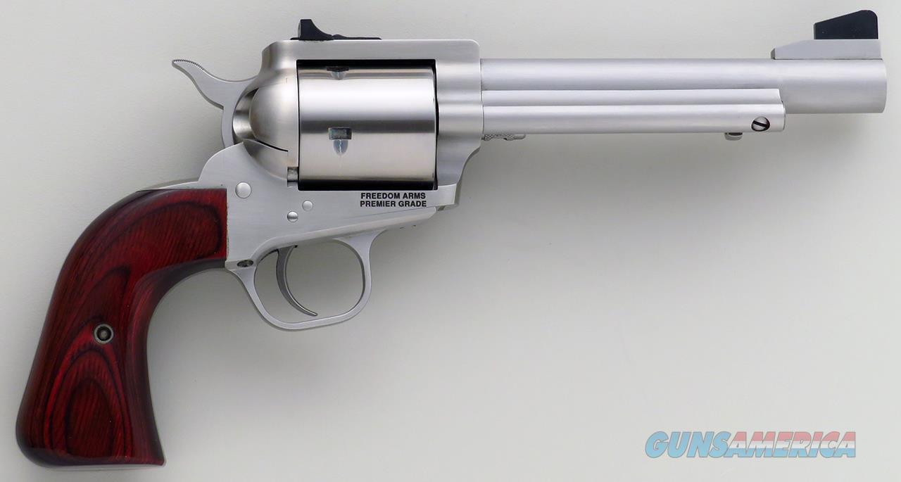 Freedom Arms Model 1997 Premier Grade .45 Colt, 5.5-inch, adjustable, round butt, 99%, estate of Tom Siatos  Guns > Pistols > Freedom Arms Pistols