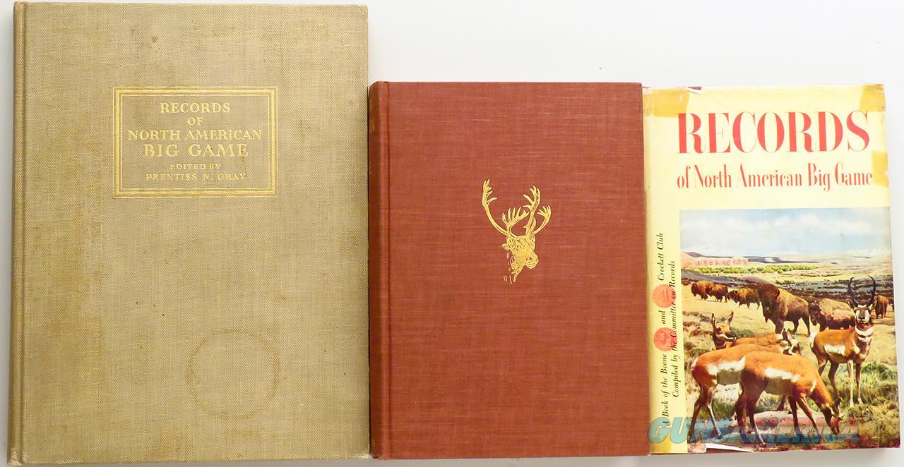 Boone and Crockett Club records book set, 1932 - 2011, 14 books  Non-Guns > Books & Magazines
