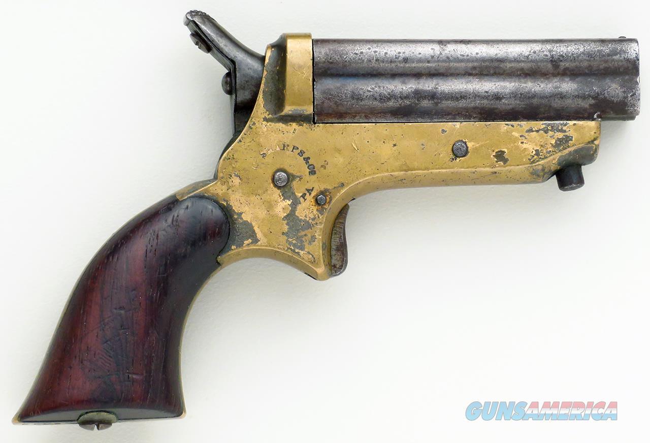 Sharps .22 Derringer, early serial, operates properly  Guns > Pistols > Sharps Pistols