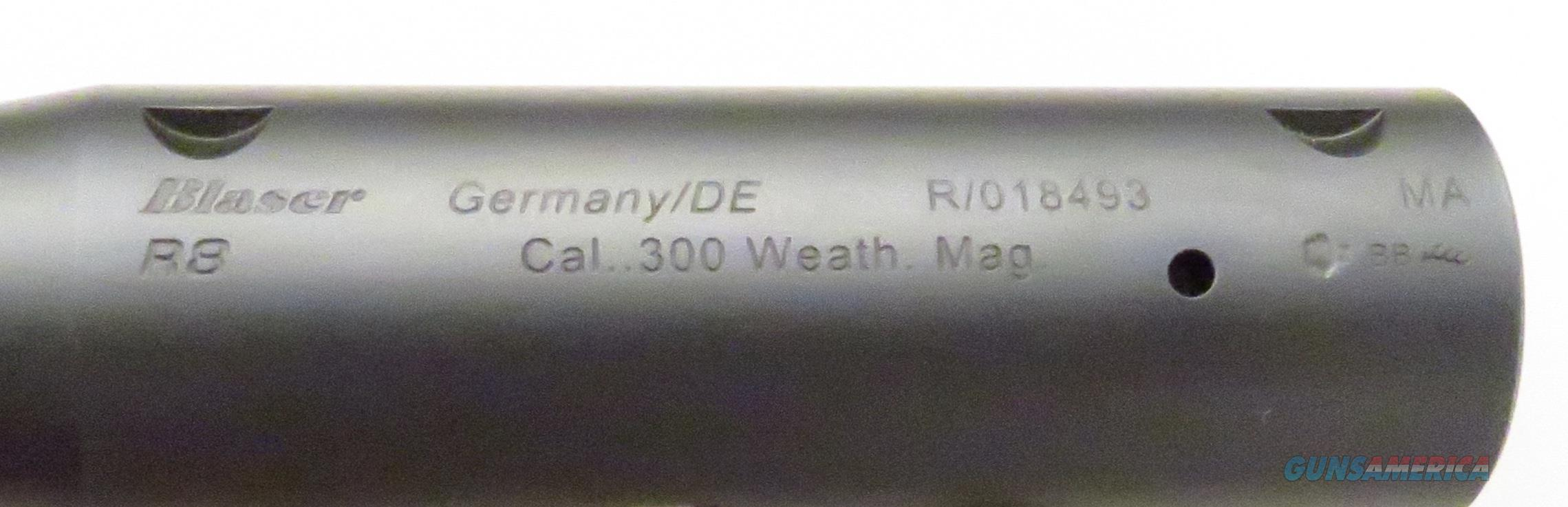 Blaser R8 .300 Weatherby Magnum barrel, unfired  Non-Guns > Barrels