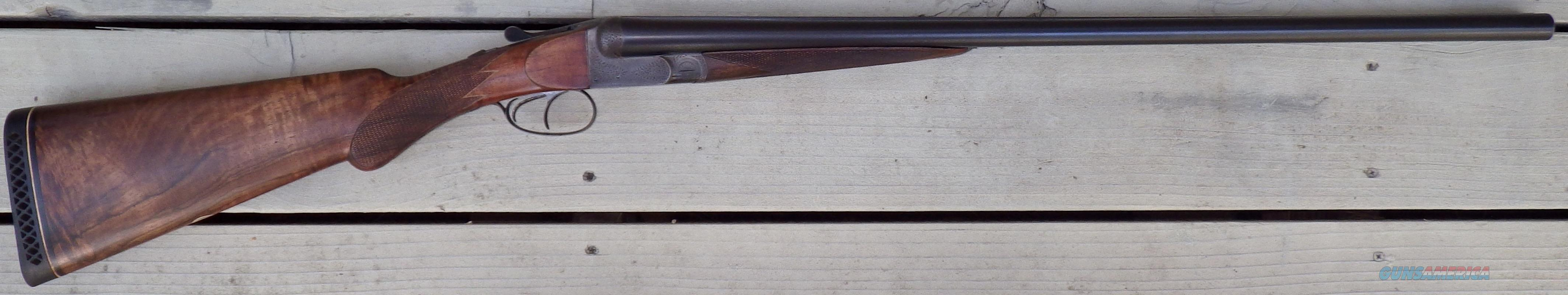 Lebeau-Courally SxS 12 gauge, ejectors, 2.75-inch, 27.5-inch, long LOP  Guns > Shotguns > Double Shotguns (Misc.)  > Belgian
