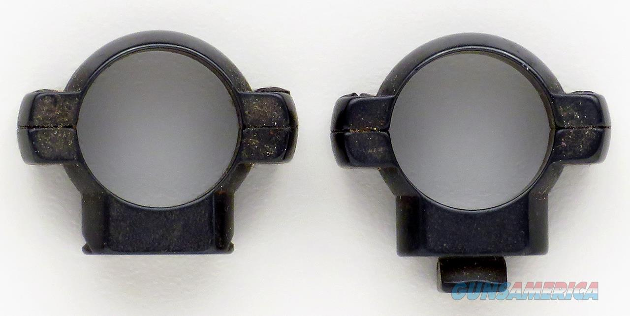 Pair 3/4 inch steel rotary dovetail scope rings, medium height, polished blue  Non-Guns > Scopes/Mounts/Rings & Optics > Mounts > Other