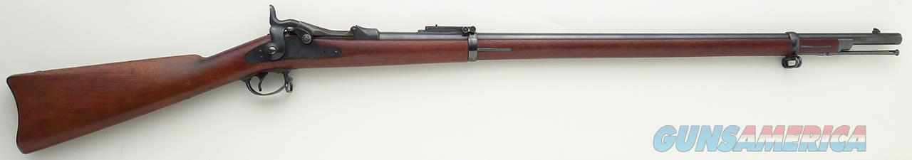 Springfield 1884 Trapdoor .45-70, 32.6-inch barrel, sharp markings, bright barrel, appears unissued  Guns > Rifles > S Misc Rifles