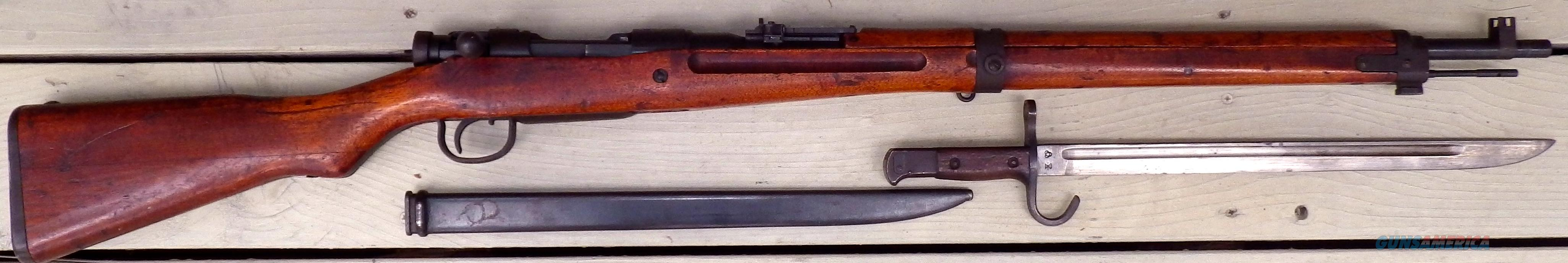 Japanese 99 with aircraft sight and bayonet  Guns > Rifles > Military Misc. Rifles Non-US > Other