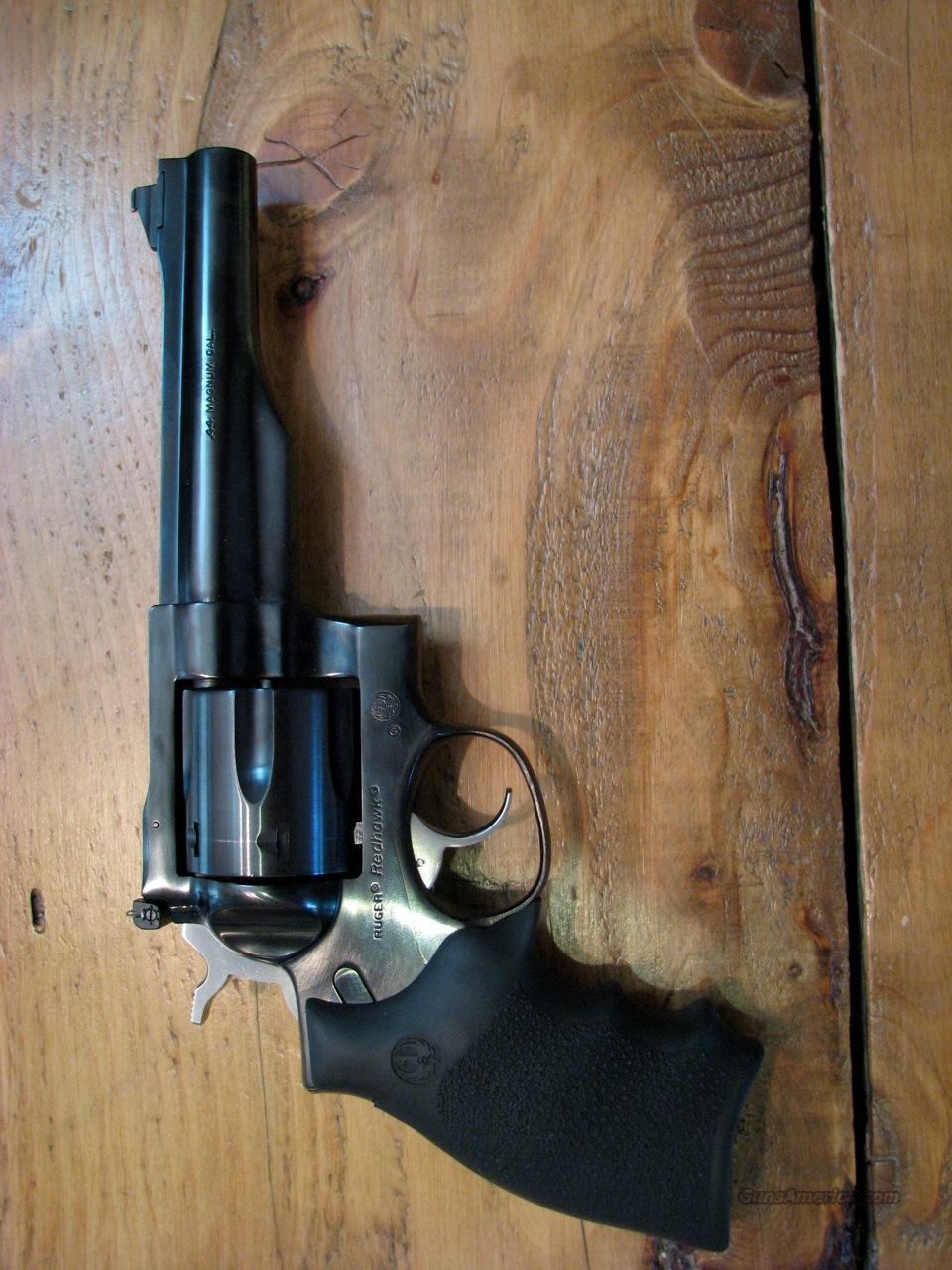 Ruger Redhawk .44 Mag., 5.5-inch blue  Guns > Pistols > Ruger Double Action Revolver > Redhawk Type