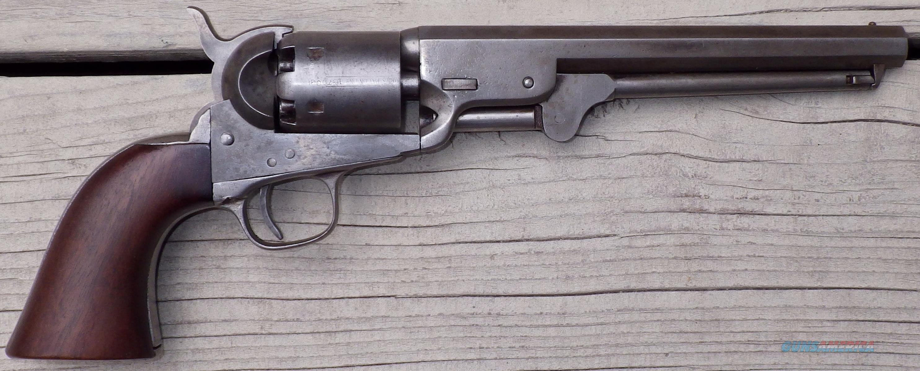 Colt 1851 Navy, US-marked, matching serial 187903  Guns > Pistols > Colt Percussion Revolver - Pre-1899