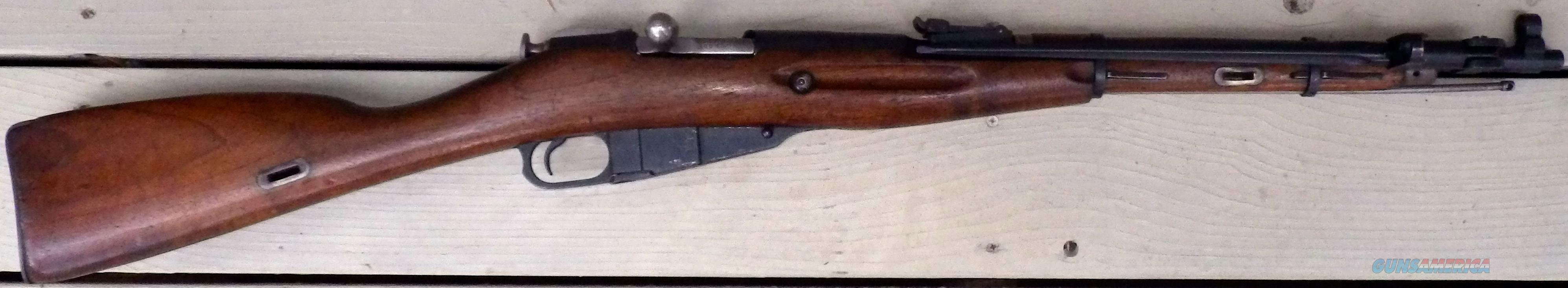 Russian Model 36 bolt action carbine, folding bayonet,   Guns > Rifles > Military Misc. Rifles Non-US > Other