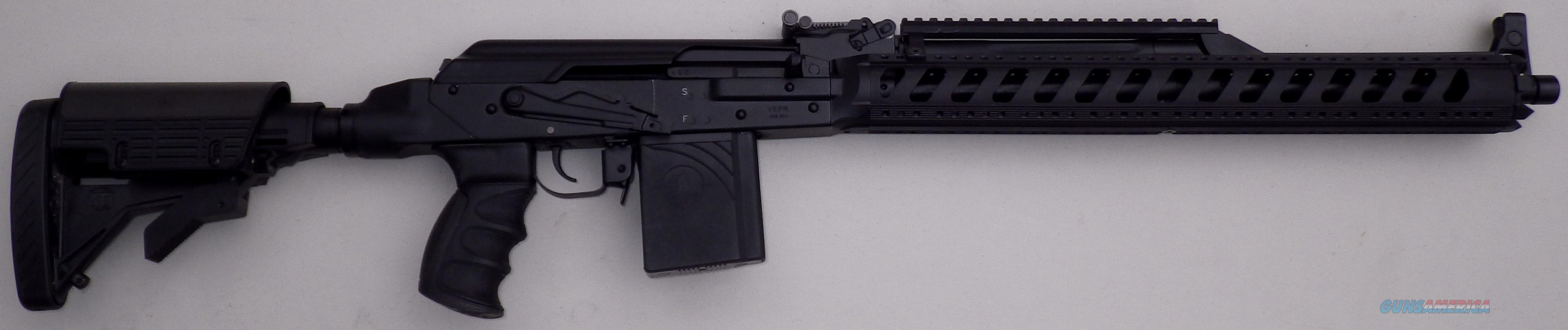 VEPR Molot-Oruzhie .308, unfired and loaded with accessories  Guns > Rifles > Tactical/Sniper Rifles