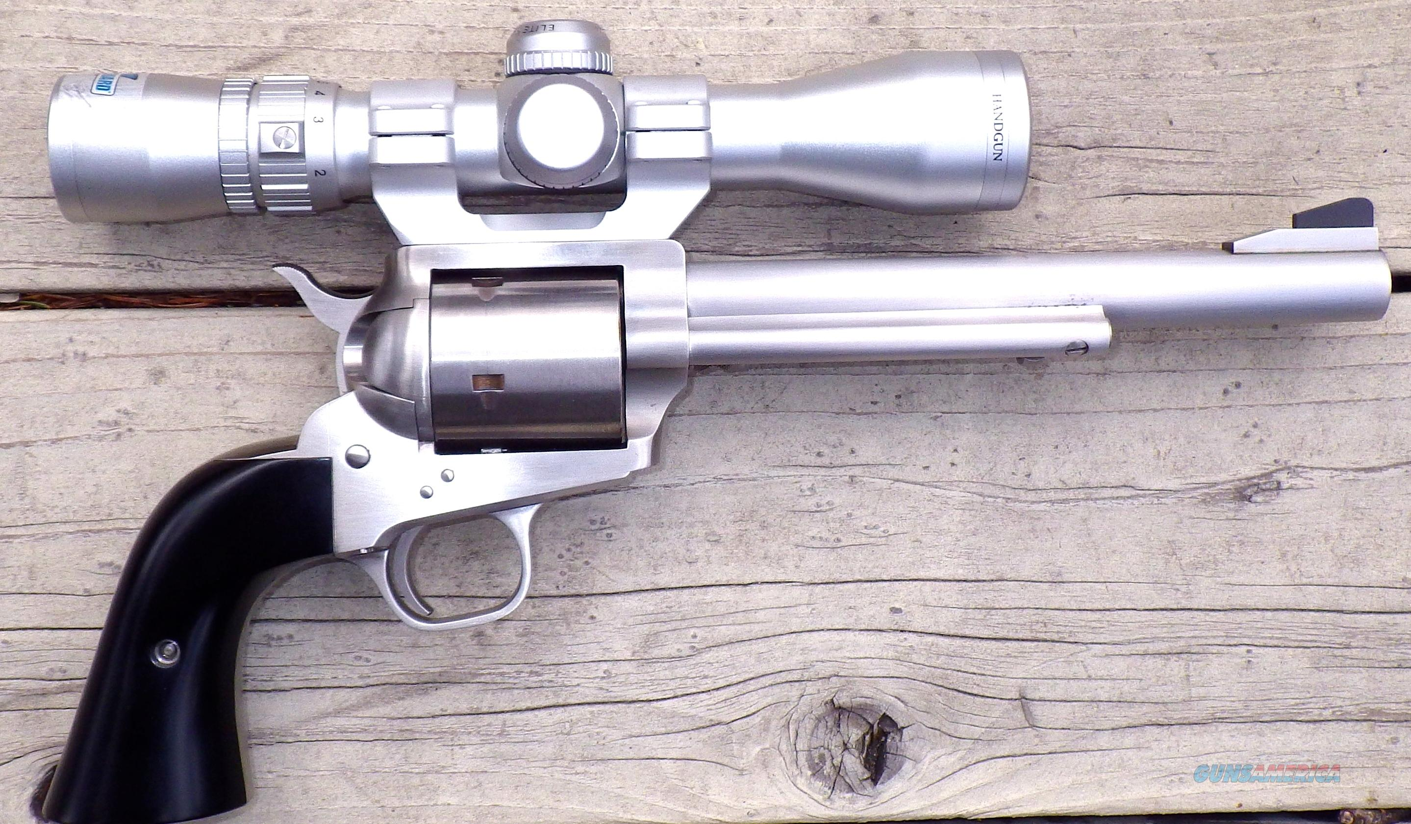 Freedom Arms Premier .454 Casull, 7.5-inch, scope, holster, micarta, tuned  Guns > Pistols > Freedom Arms Pistols