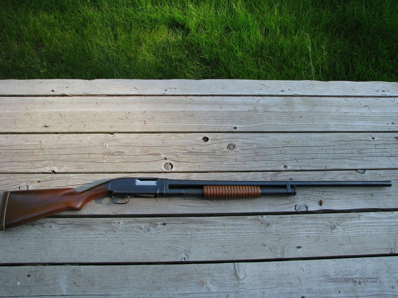 Winchester Model 12 12 ga. Nickel Steel  Guns > Shotguns > Winchester Shotguns - Modern > Pump Action > Hunting