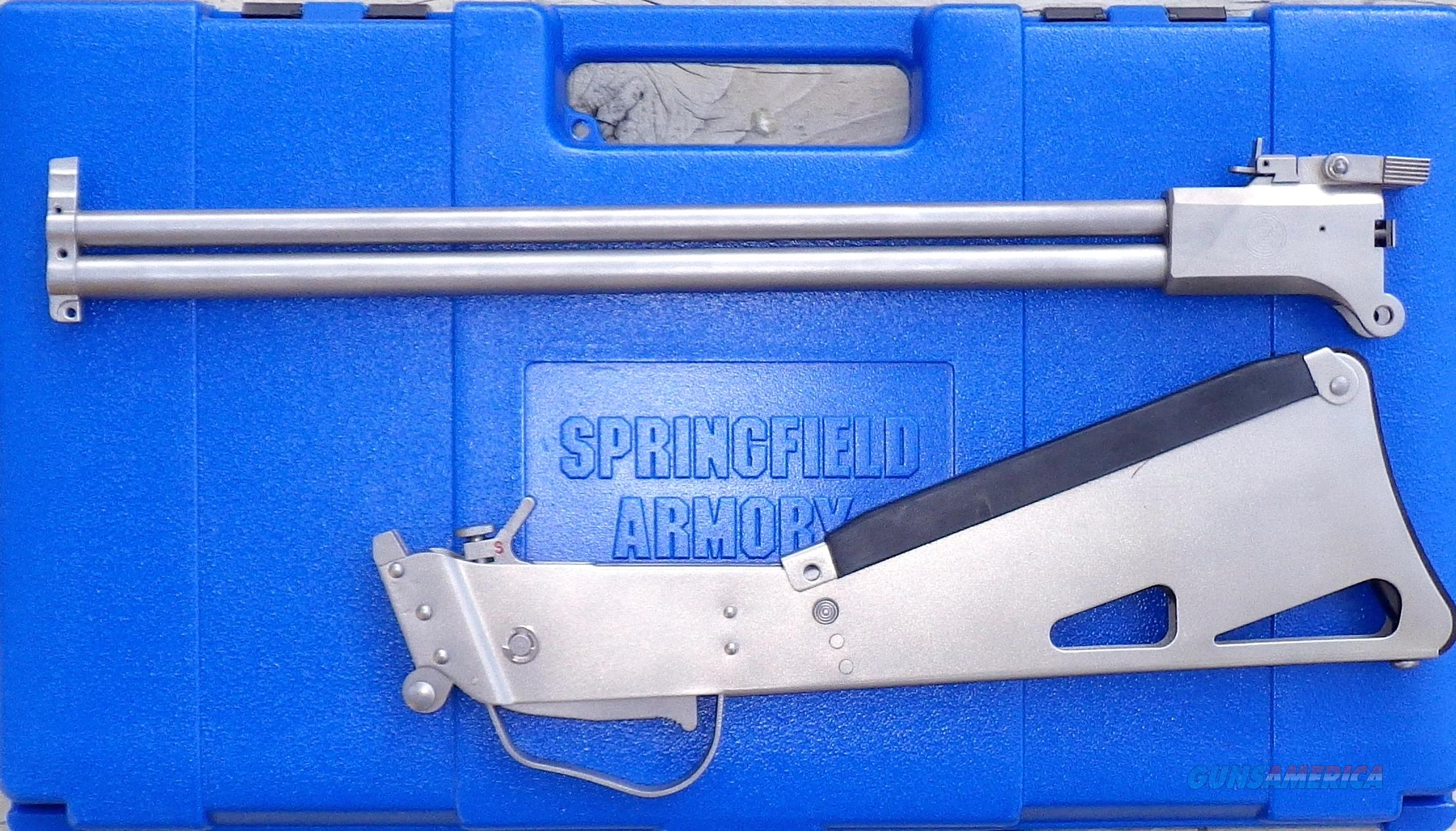Springfield Armory M6 Scout,stainless steel, .22 Hornet / .410, hard case, new  Guns > Rifles > Springfield Armory Rifles > M1A/M14