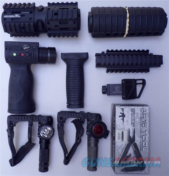 Premium AR-15 accessories, large lot, all new  Guns > Rifles > Colt Military/Tactical Rifles