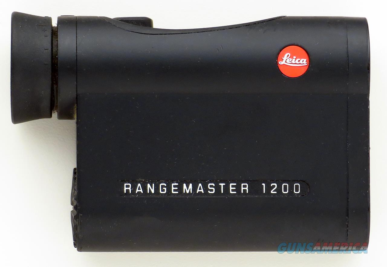 Leica Rangemaster 1200 rangefinder, scanning feature, lightly used  Non-Guns > Scopes/Mounts/Rings & Optics > Non-Scope Optics > Rangefinders