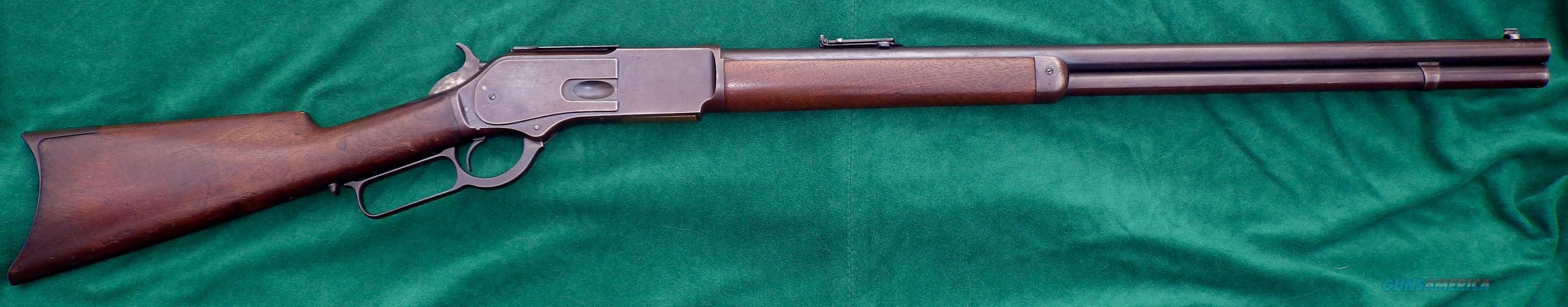 Winchester 1876 .45-60, original & clean, benefits Boone & Crockett Club  Guns > Rifles > Winchester Rifles - Pre-1899 Lever
