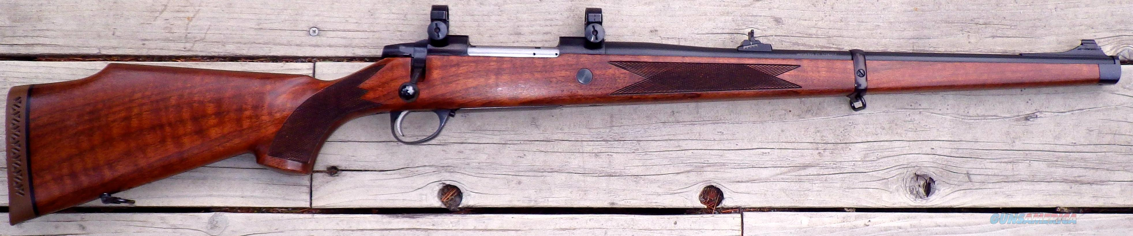 Sako AIII Männlicher .30-06, with rings and open sights, 95%   Guns > Rifles > Sako Rifles > Other Bolt Action
