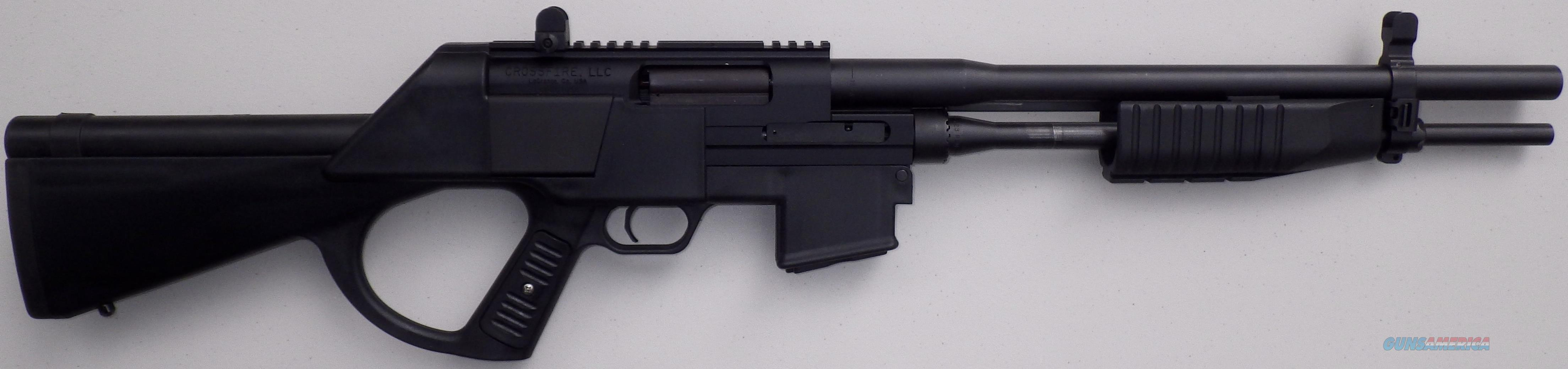 Crossfire MK-1 12 gauge / .223 Rem combo pump a... for sale