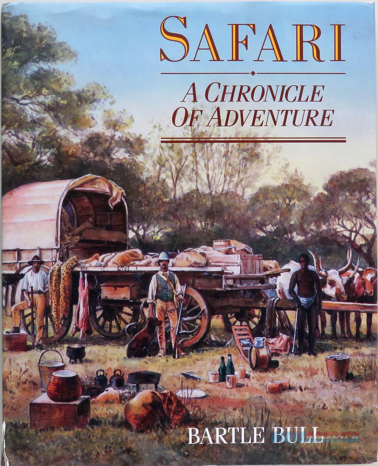 Safari by Bartle Bull, 1988, published by Viking  Non-Guns > Books & Magazines