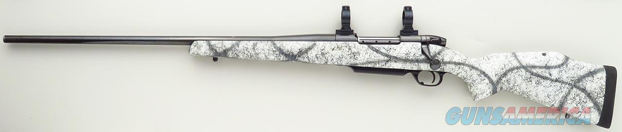 Weatherby Mark V LEFT HAND .300 Weatherby Magnum, 26-inch, drop box, checkered knob, Talley  Guns > Rifles > Weatherby Rifles > Sporting