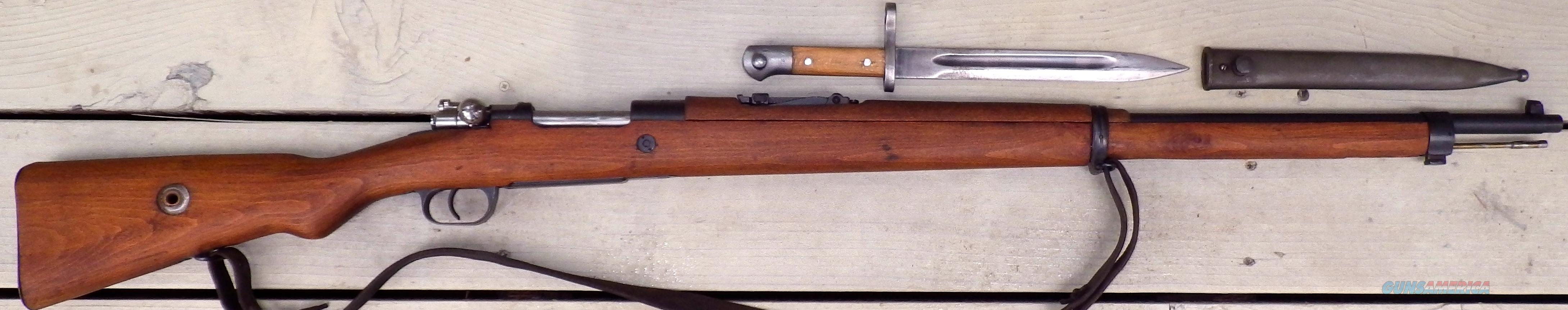 Mauser 98, Turkish 1943, bayonet  Guns > Rifles > Military Misc. Rifles Non-US > Other