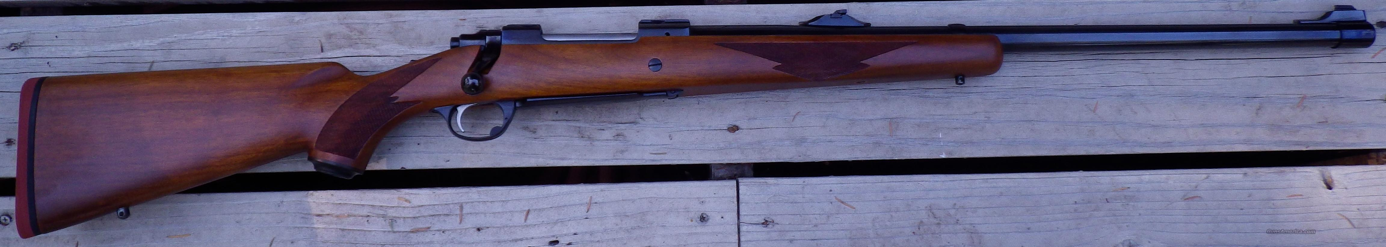 Ruger Model 77 .458 Win. Mag., tang safety, unfired  Guns > Rifles > Ruger Rifles > Model 77