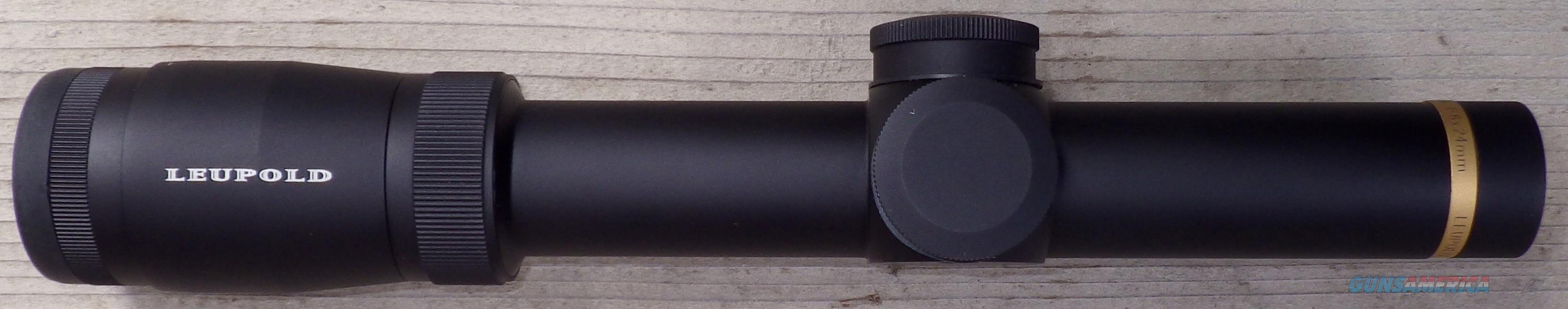 Leupold VX-6 1-6x24mm CDS FireDot Duplex, matte, item 112318  Non-Guns > Scopes/Mounts/Rings & Optics > Rifle Scopes > Variable Focal Length