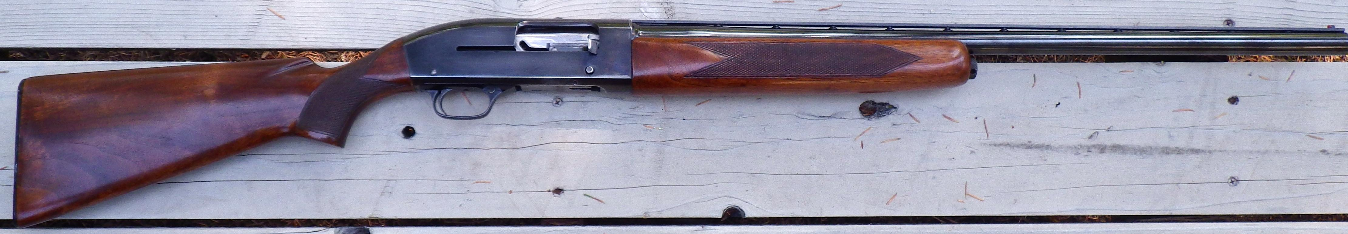 Winchester Model 50 12 gauge, rib added  Guns > Shotguns > Winchester Shotguns - Modern > Autoloaders > Hunting