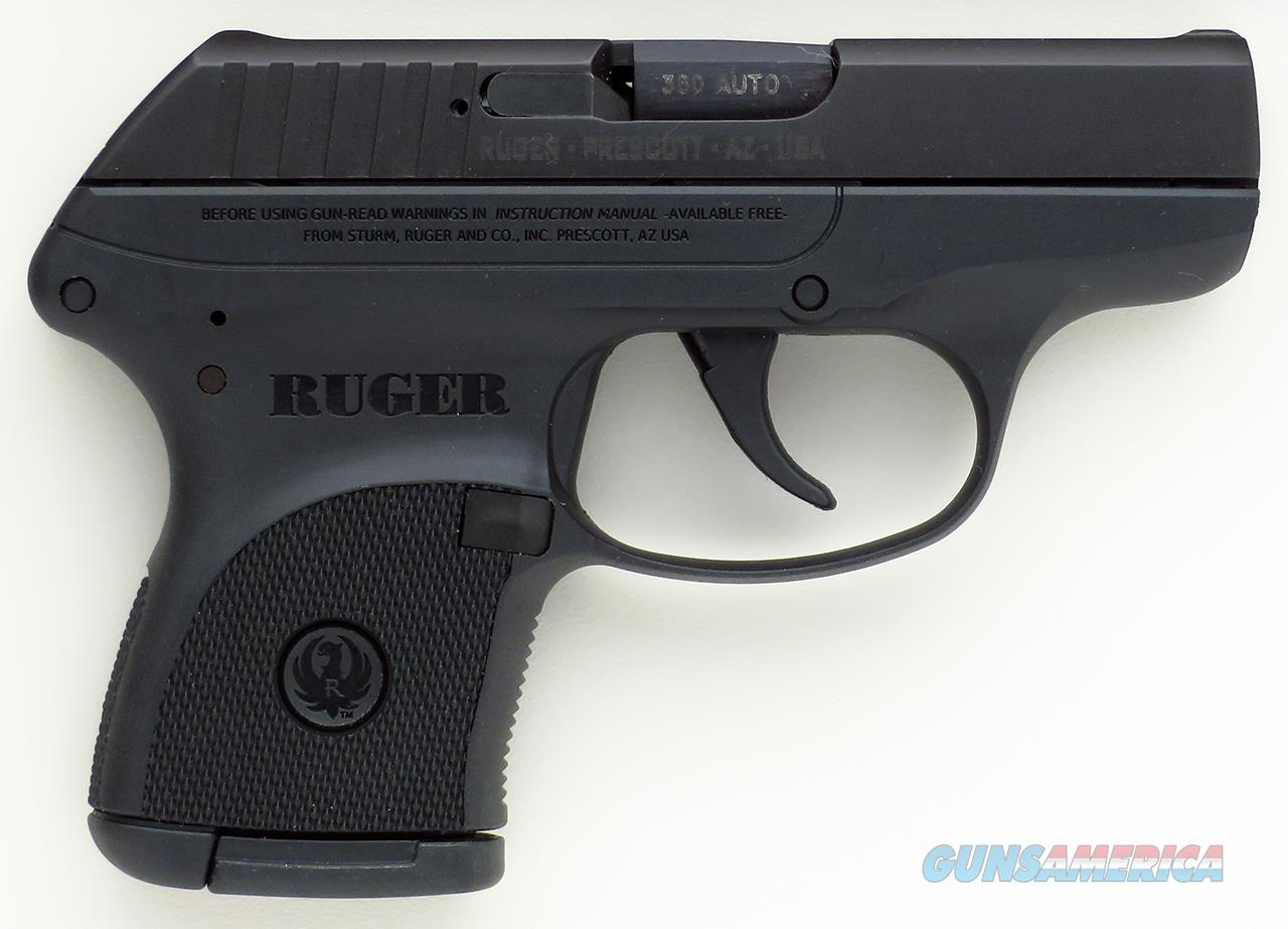 Ruger LCP .380 ACP, 2009, blue slide, new and unfired in the original box  Guns > Pistols > Ruger Semi-Auto Pistols > LCP