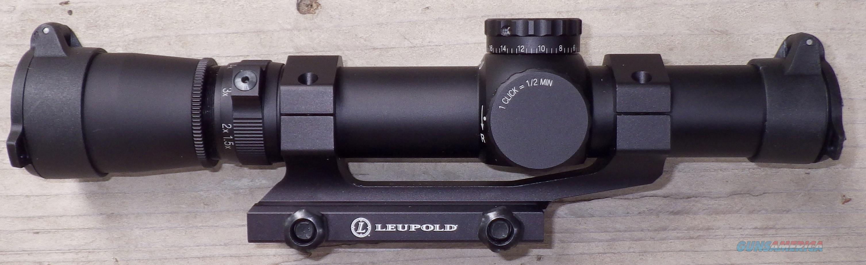 Leupold Mark 4 MR/T 1.5-5x20mm M2-FF illuminated .300 Blackout with mount  Non-Guns > Scopes/Mounts/Rings & Optics > Rifle Scopes > Variable Focal Length