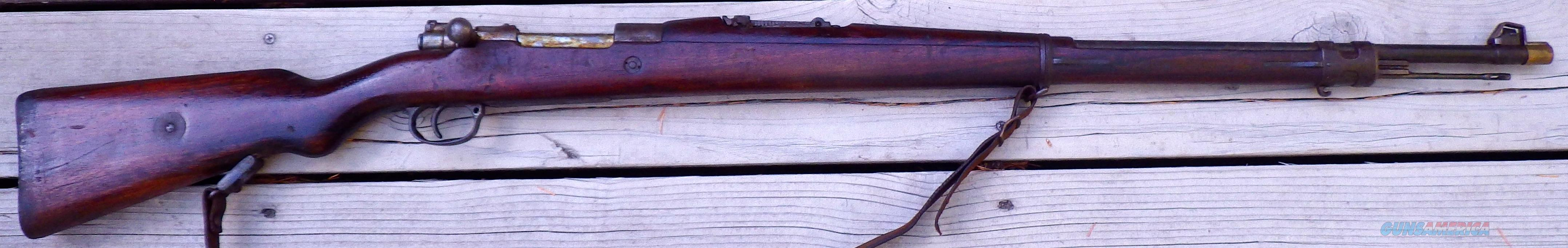 Mauser 1908, Brazil, sling, numbers match  Guns > Rifles > Military Misc. Rifles Non-US > Other