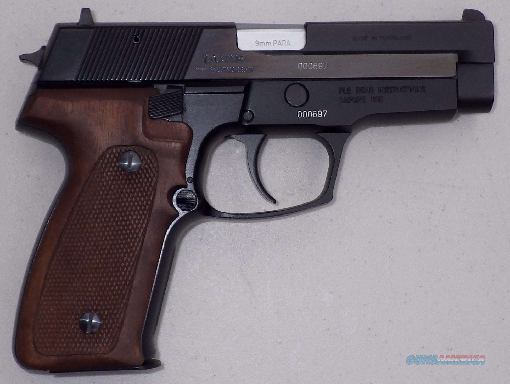 Zastava (CZ) 99 9mm circa 1991, new in box, 2 15-round mags, papers, wood grips, partially-polished slide  Guns > Pistols > Zastava Arms