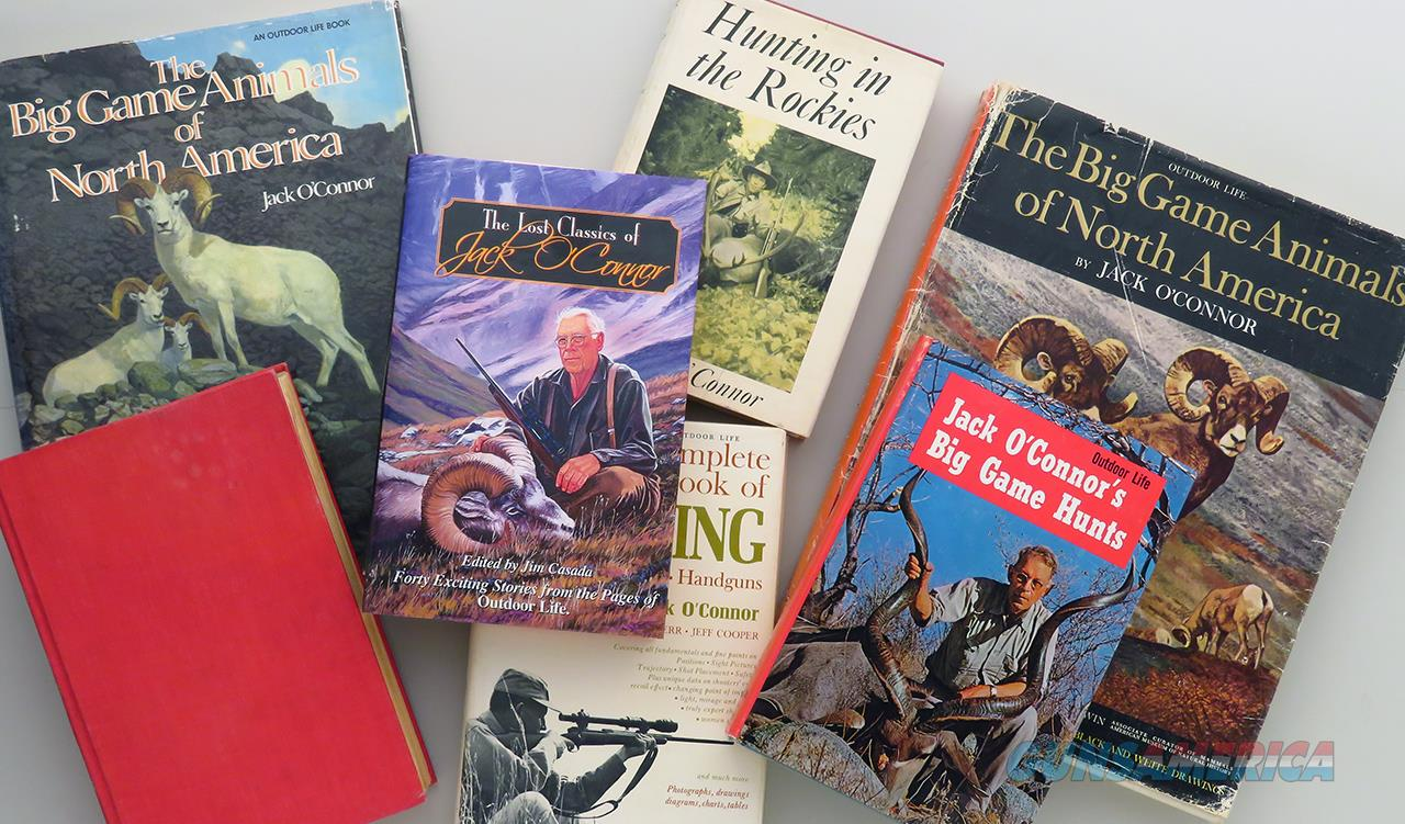 Jack O'Connor books, seven big game and shooting titles  Non-Guns > Books & Magazines