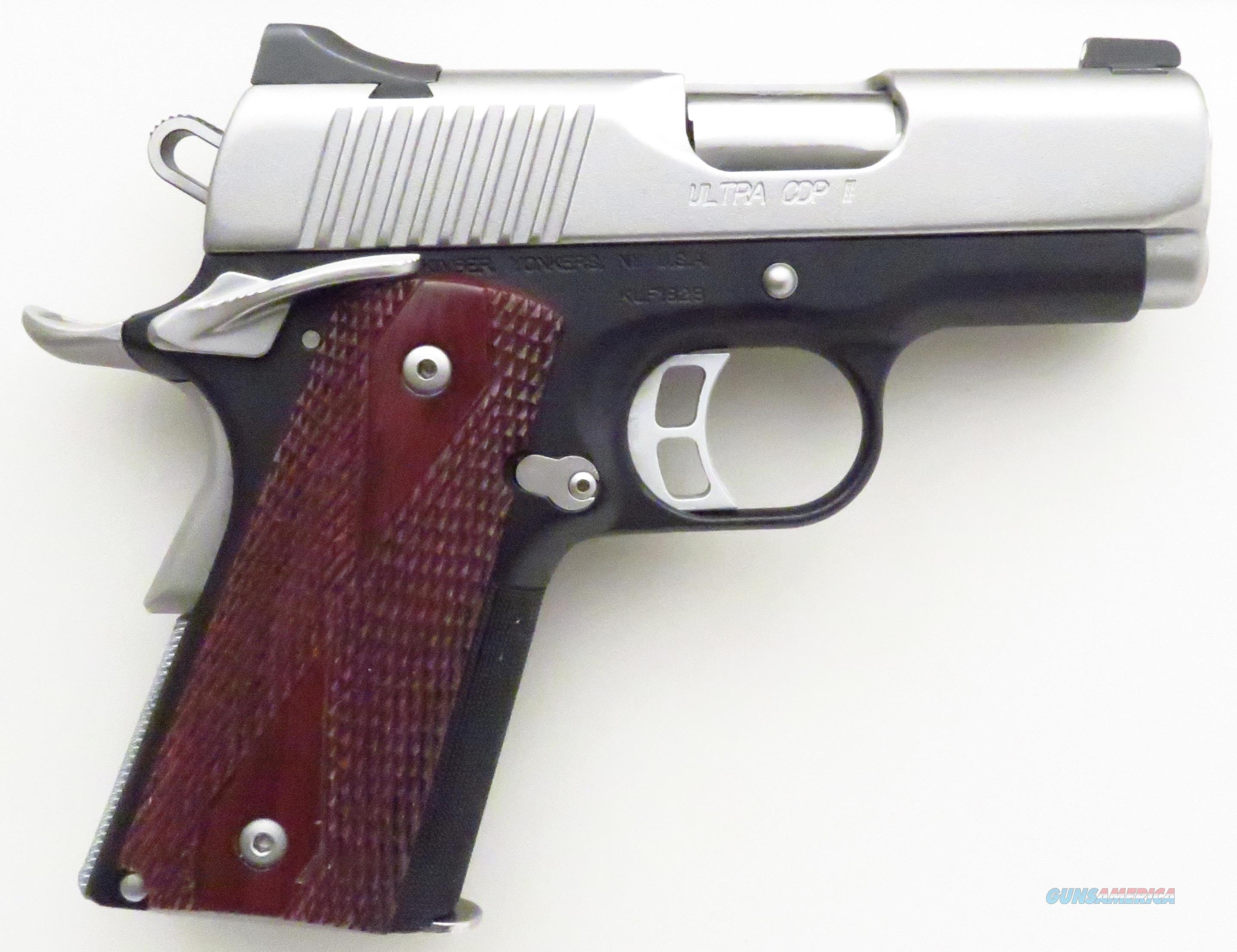 Kimber Ultra CDP II 9mm, night sights, stainless slide, 3-inch match grade bull barrel  Guns > Pistols > Kimber of America Pistols