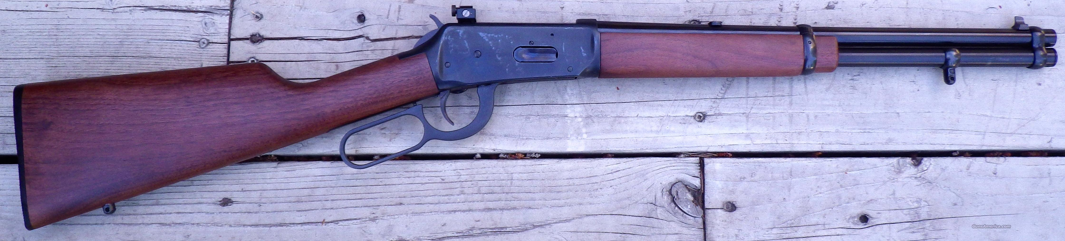Winchester Model 94 30-30, 16-inch, top eject, saddle ring, 1980  Guns > Rifles > Winchester Rifles - Modern Lever > Model 94 > Post-64