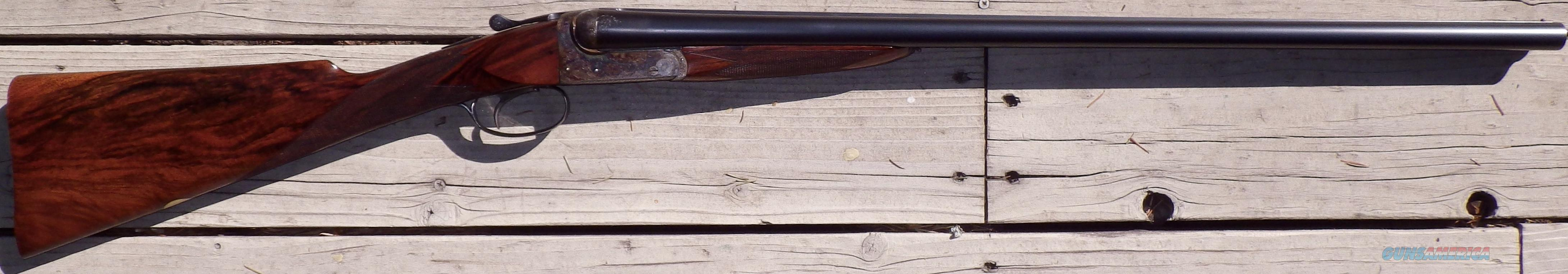 BSA 12 SxS, ejectors, Miller trigger, IC/M, 6.6 pounds  Guns > Shotguns > BSA Shotguns