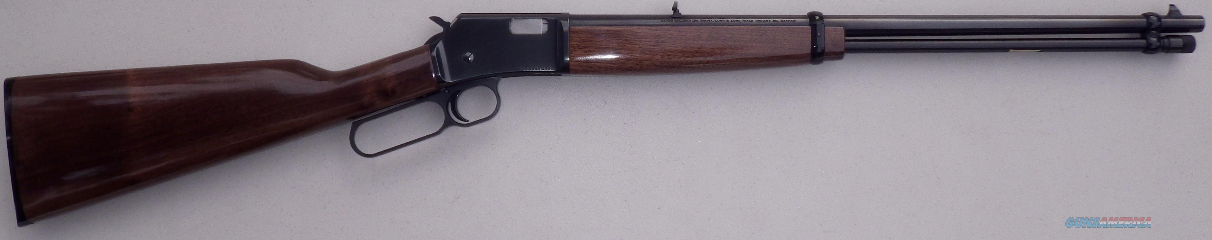 Browning BL-22 .22 LR (S/L/LR), 20-inch, 13.4 LOP, new condition  Guns > Rifles > Browning Rifles > Lever Action
