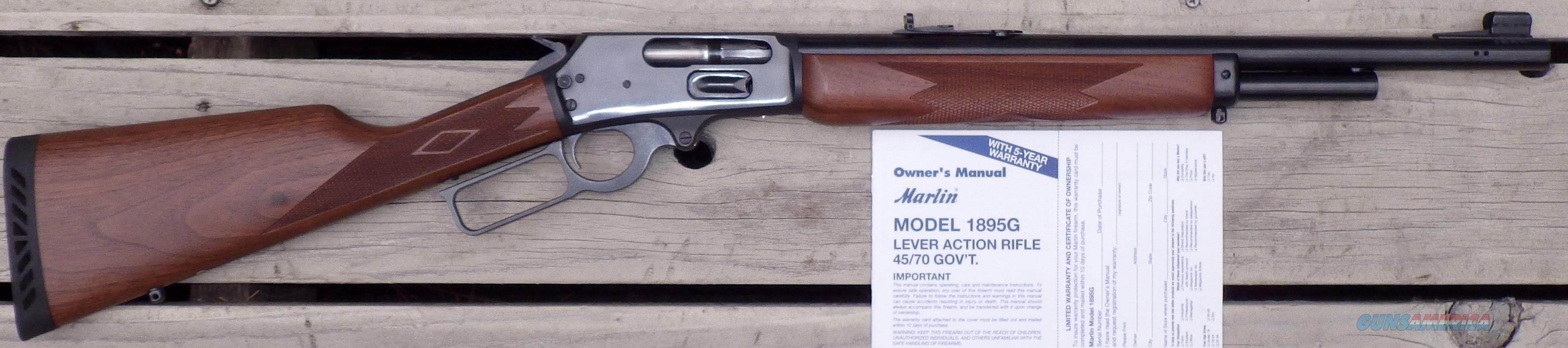 Marlin 1895G .45/70, North Haven, 18-inch, ported, serial 00015377  Guns > Rifles > Marlin Rifles > Modern > Lever Action