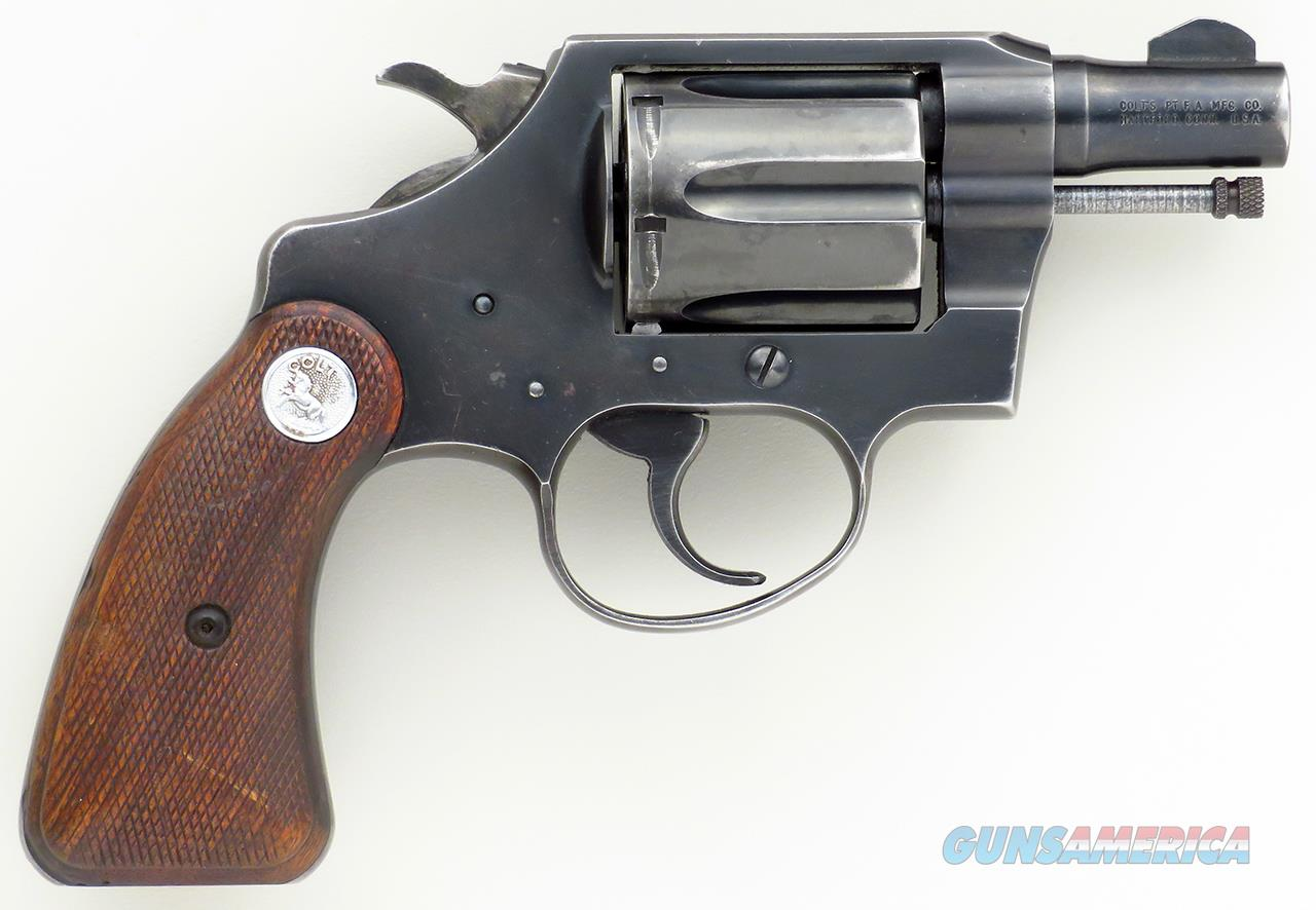 Colt Detective Special .38 Special, 1964, 850461, 2-inch, steel frame, great bore  Guns > Pistols > Colt Double Action Revolvers- Modern
