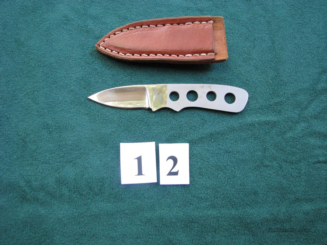 J.L. Barbee 2.5-inch boot/belt knife  Non-Guns > Knives/Swords > Knives > Fixed Blade > Hand Made