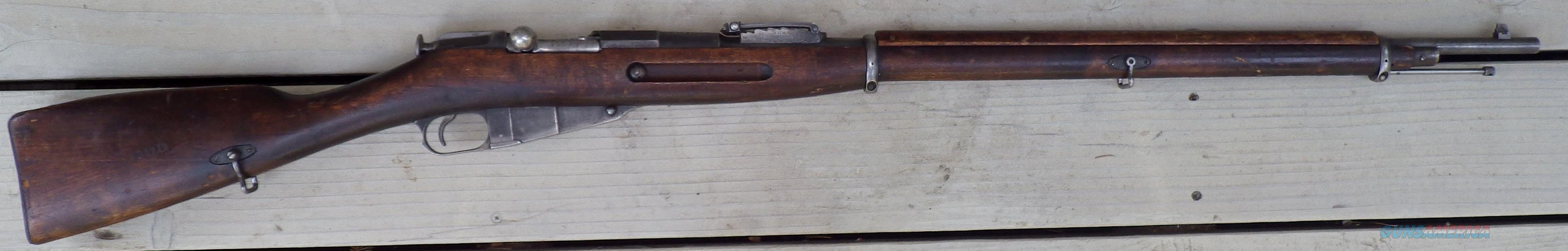 Mosin-Nagant 1891 Russian, 7.65x54mm, made 1905  Guns > Rifles > Military Misc. Rifles Non-US > Other