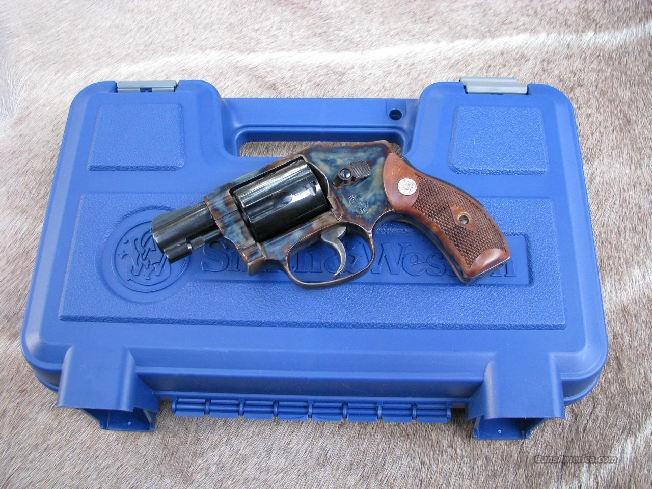 S&W M-40 Heritage 2-inch .38 Sp. case colored  Guns > Pistols > Smith & Wesson Revolvers > Pocket Pistols