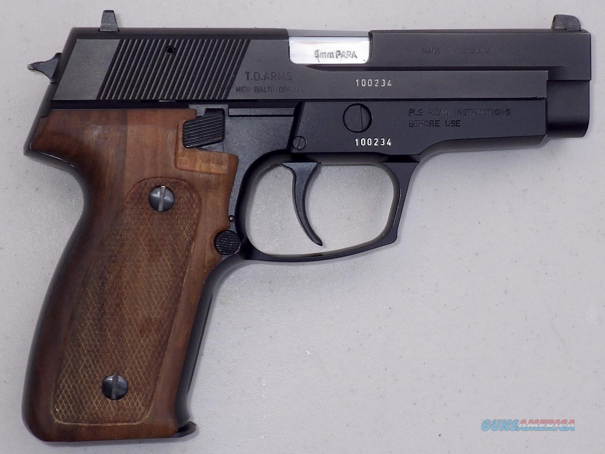 Zastava (CZ) 99 9mm circa 1991, new in box, 2 15-round mags, papers, wood grips, matte slide  Guns > Pistols > Zastava Arms