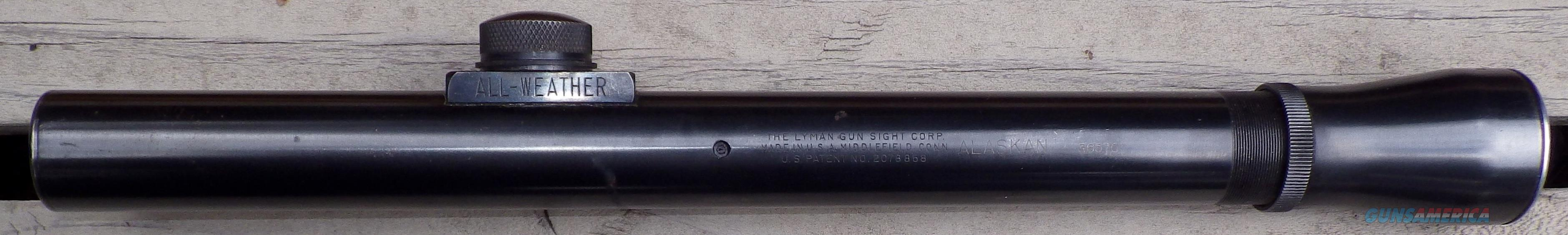 Lyman Alaskan 2.5x scope, crosshair/dot, fantastic condition  Non-Guns > Scopes/Mounts/Rings & Optics > Rifle Scopes > Fixed Focal Length