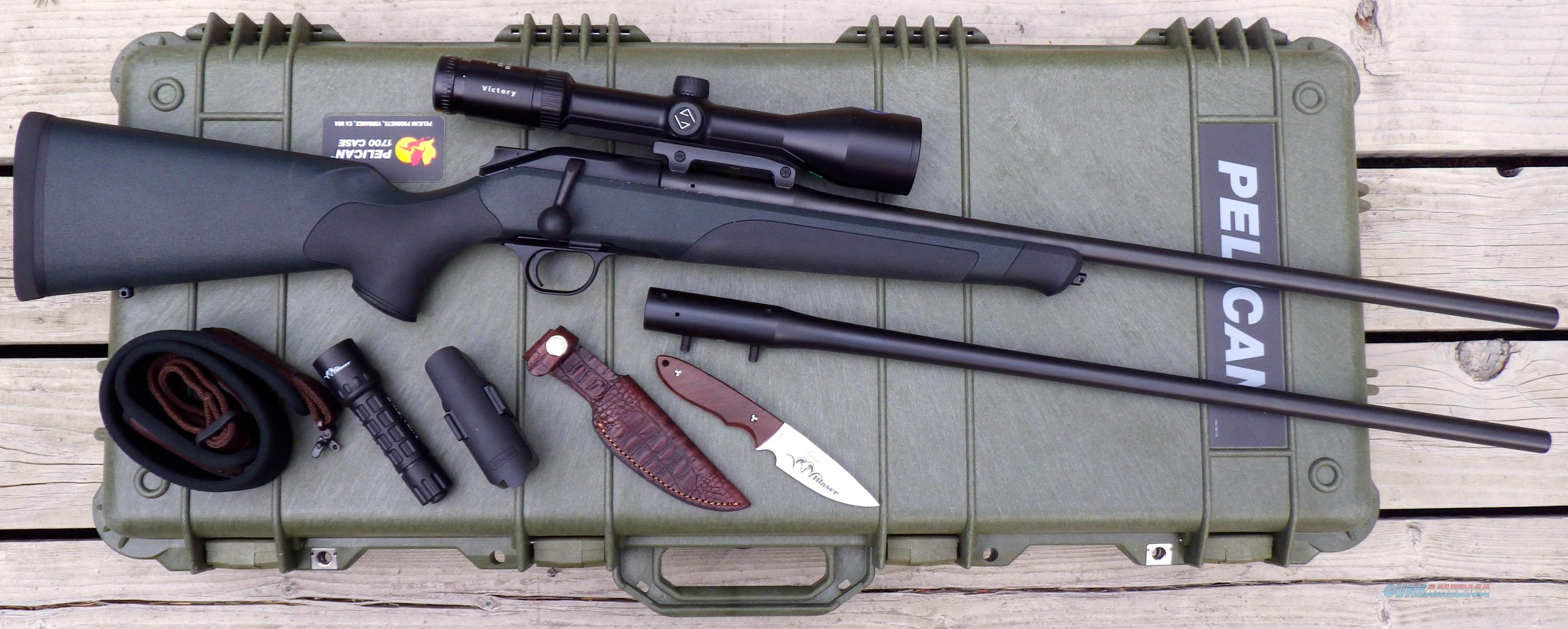 Blaser R8 Professional Package .300 Wby/.375 H&H, Zeiss Varipoint M 2.5-10X  Guns > Rifles > Blaser Rifles/Combos/Drillings