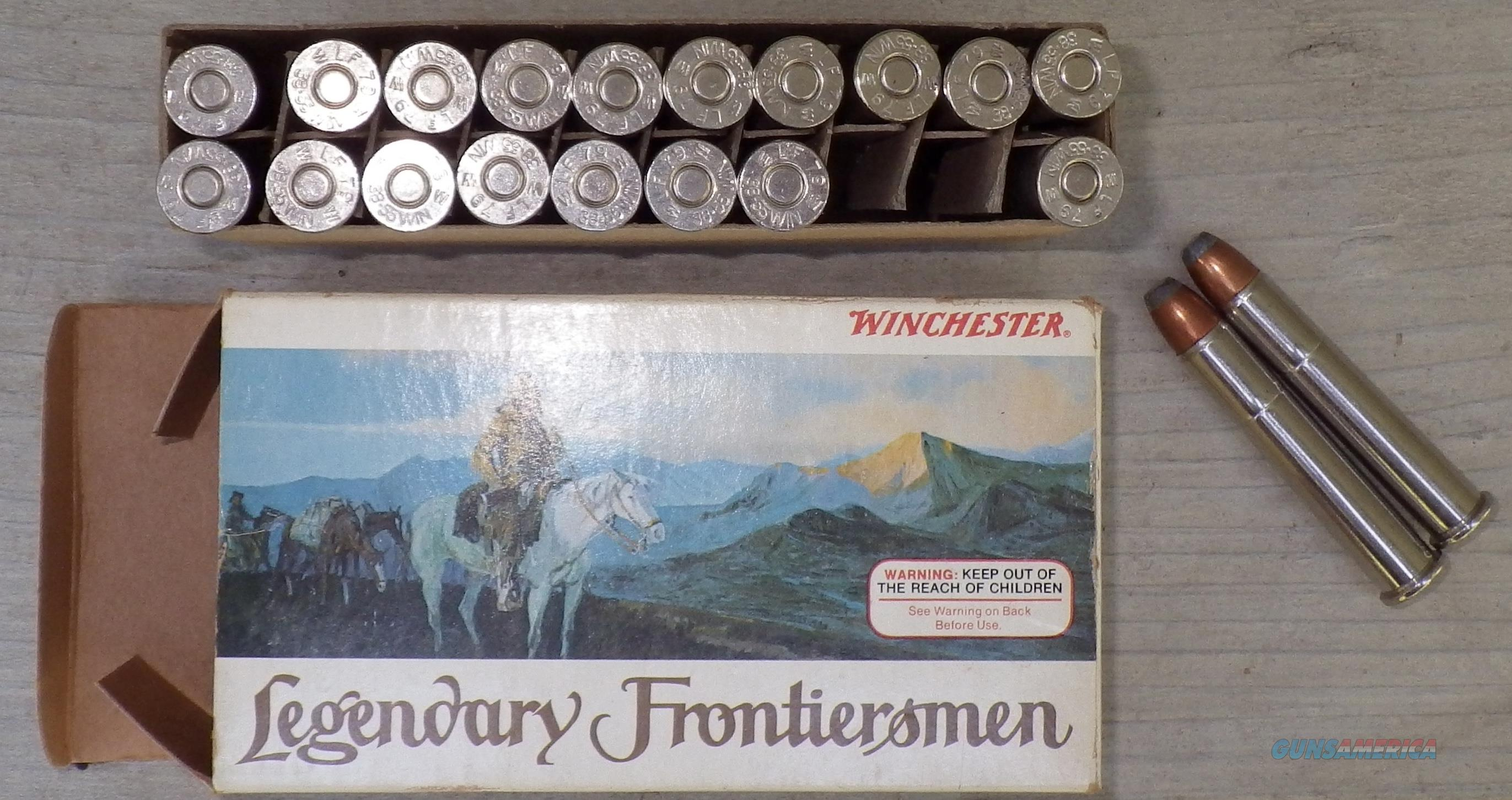 Winchester Legendary Frontiersmen .38-55, box of 255-grain SP  Non-Guns > Ammunition