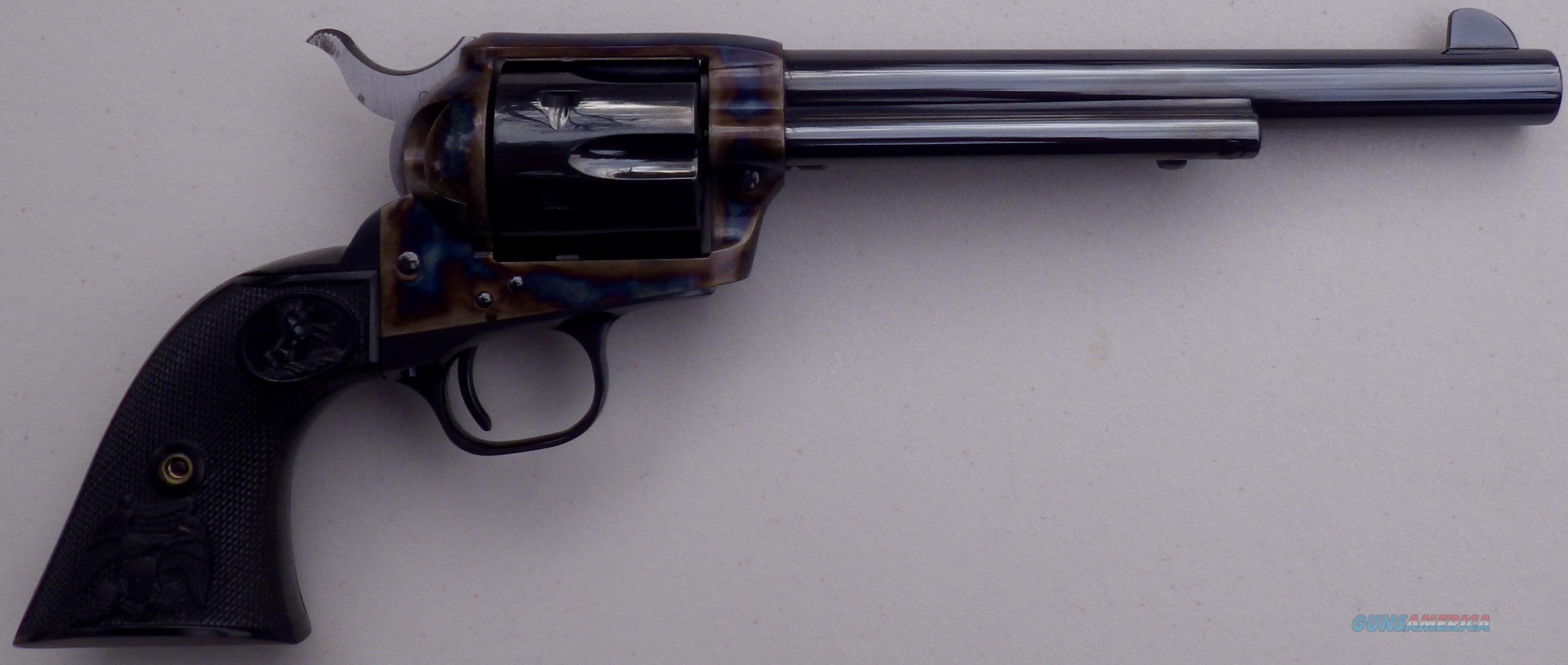Colt SAA .45 7.5-inch, color case frame, recent, new in blue box  Guns > Pistols > Colt Single Action Revolvers - 3rd Gen.